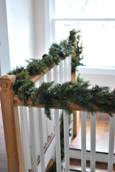 upstairs garland